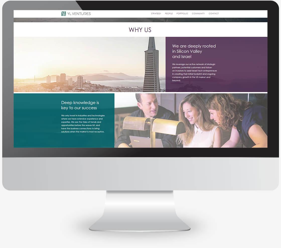 אתר WORDPRESS של קרן הון ישראלית ylventures