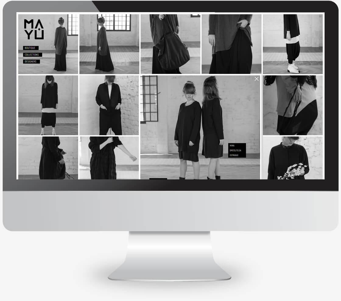 אתר וורדפרס של חנות לאופנה נשית