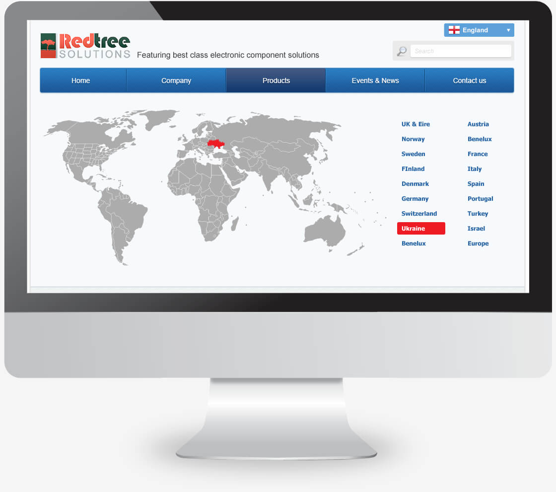 בניית אתר תדמיתי באנגלית