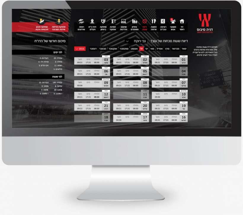 עיצוב אתר פנים ארגוני