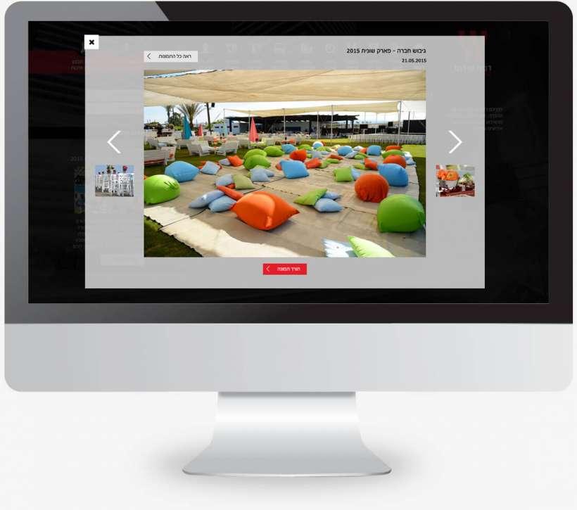 בניית אתר לעובדי ארגון