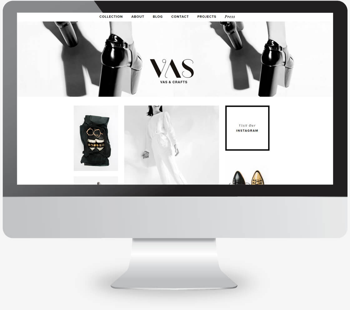 vas - אתר של מעצבת נעליים